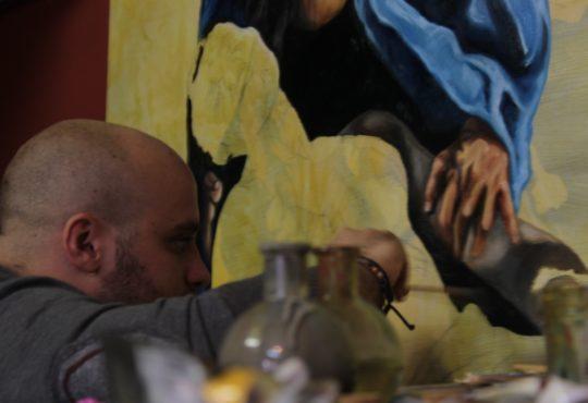 artista Mario Borrelli