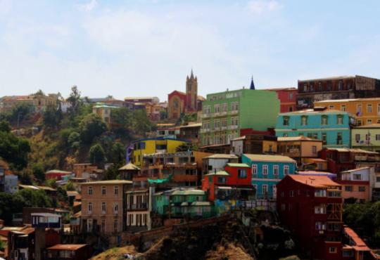 In Sud America con 5 romanzi