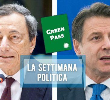 Conte Draghi green pass